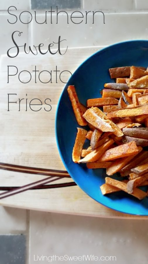 Southern Sweet Potato Fries
