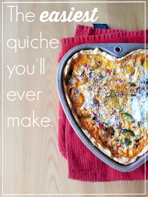 The easiest quiche you 39 ll ever make living the sweet wife for The best quiche ever