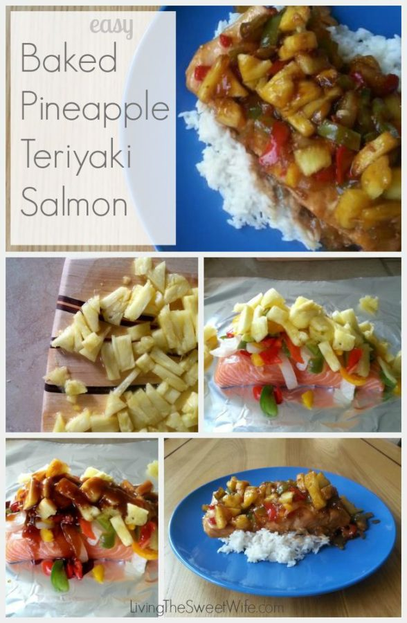 Easy Peasy Pineapple Teriyaki Salmon