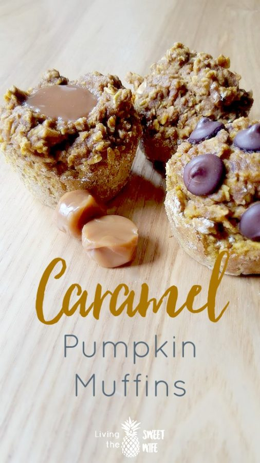 Caramel Pumpkin Muffins + Free Shopping List!