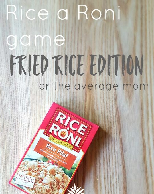 Step Up Your Rice a Roni Game- Fried Rice Edition. This is a simple way to make all the difference with your Rice a Roni meal. I make many variations to my Rice a Roni dinners (we eat them a lot considering 1. they're cheap, 2. they're healthy-ish and 3. they're quick and many times can be made in one pot.