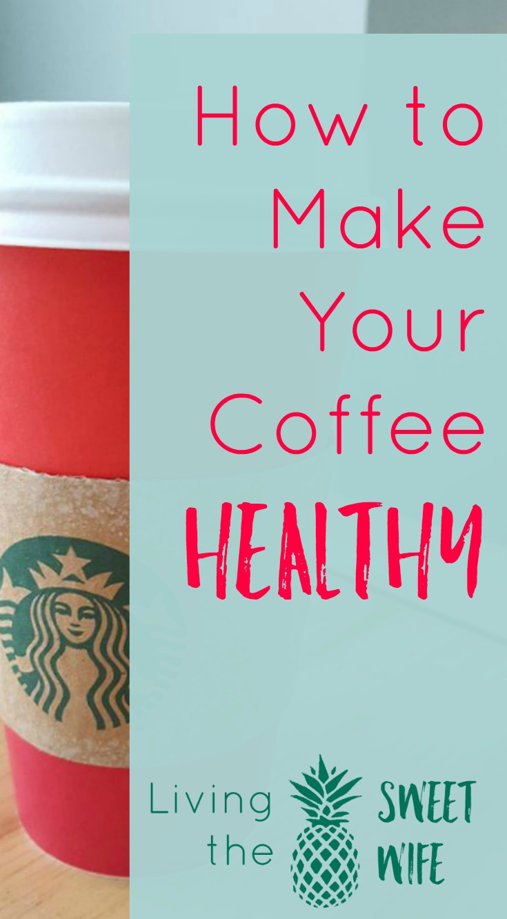 By now, most of us know that diets simply don't work. Losing weight and getting healthy is a lifestyle filled with little choices that, over time, make all the difference. One of the biggest changes I've made to my daily diet is how I take my coffee. Making these simple choices to make your coffee healthy will get your day headed in the right direction and lead they way to a healthier day!