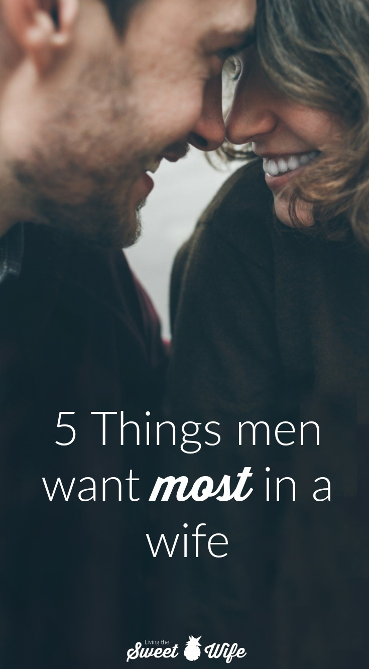 Study: 5 Things men want most in a wife