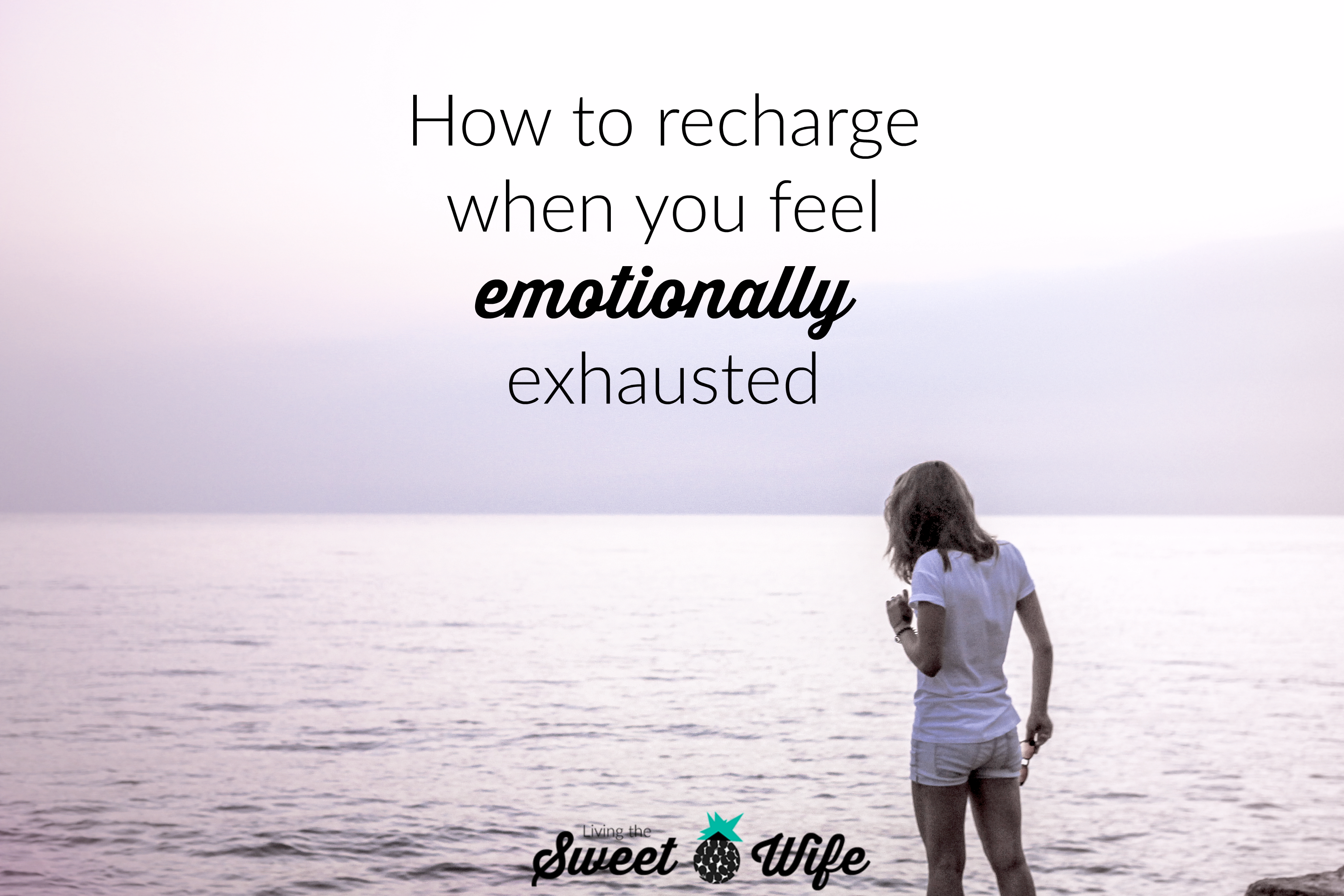 Have you ever been to the point of emotional exhaustion where you literally stop feeling feelings for a while? Whether voluntary or not, the numbness of emotional exhaustion is not fun- or healthy- for long periods of time. Here are some tips I've compiled to help you get a head start back to an emotionally healthy, energized, and renewed state.