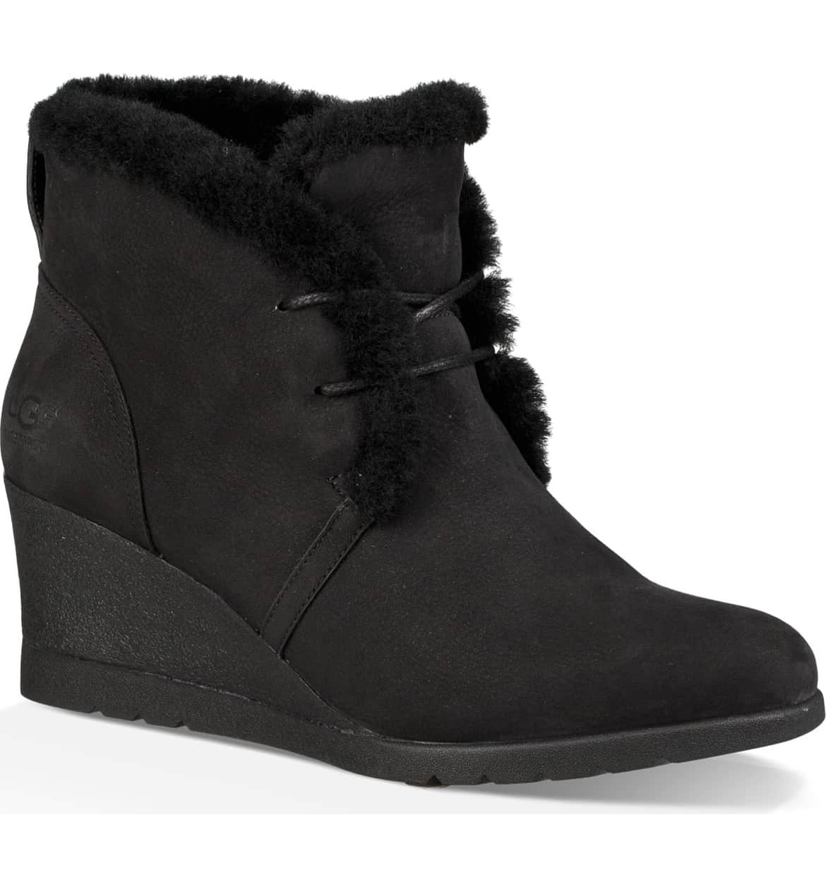 Ugg Jeovana Waterproof Genuine Shearling Lined