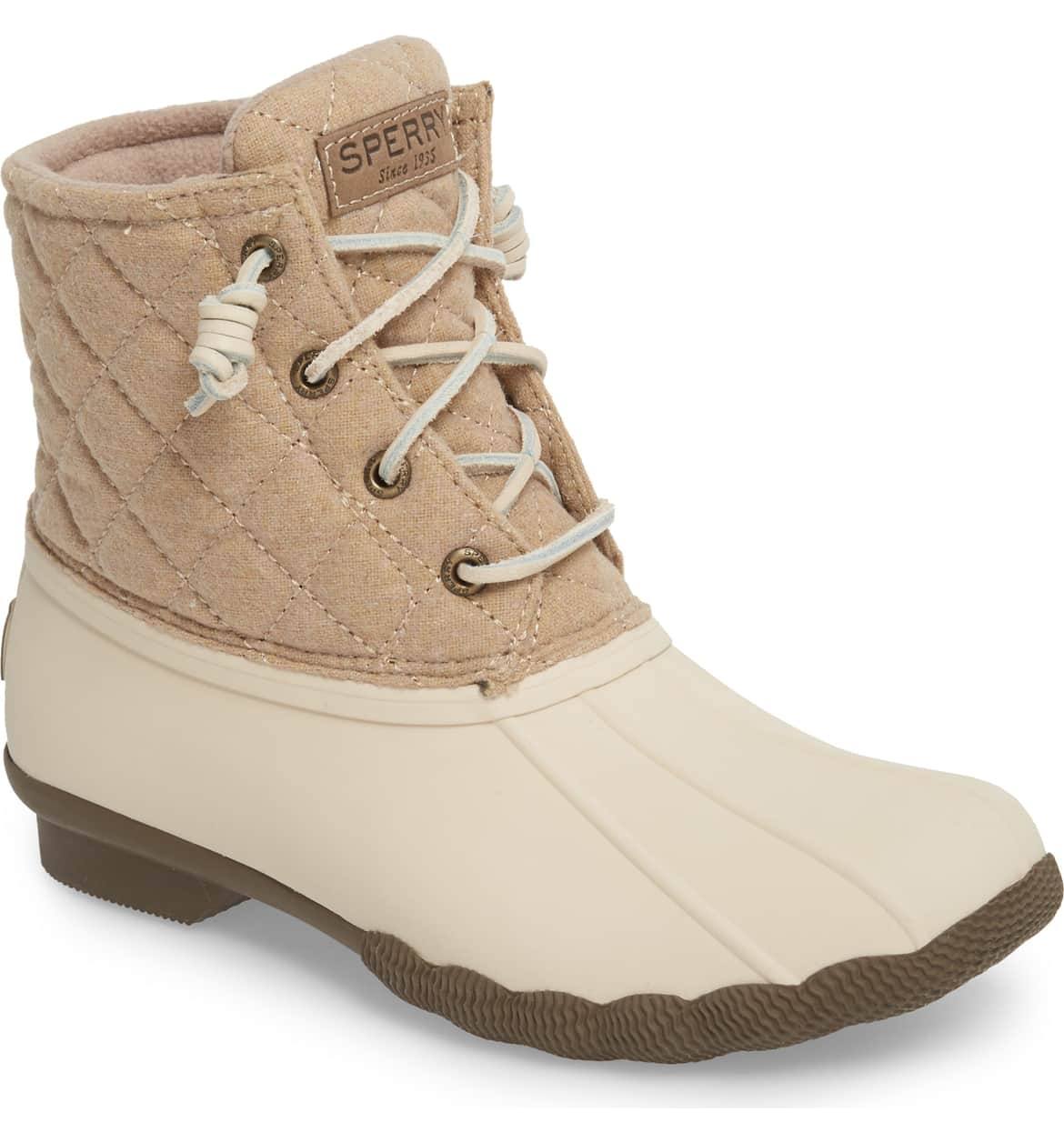 Sperry Saltwater Rain Boot Oyster