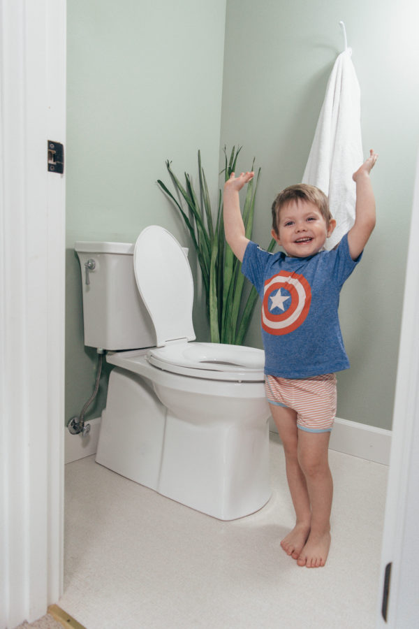 What We Finally Did to get our Toddler Potty Trained in a Week