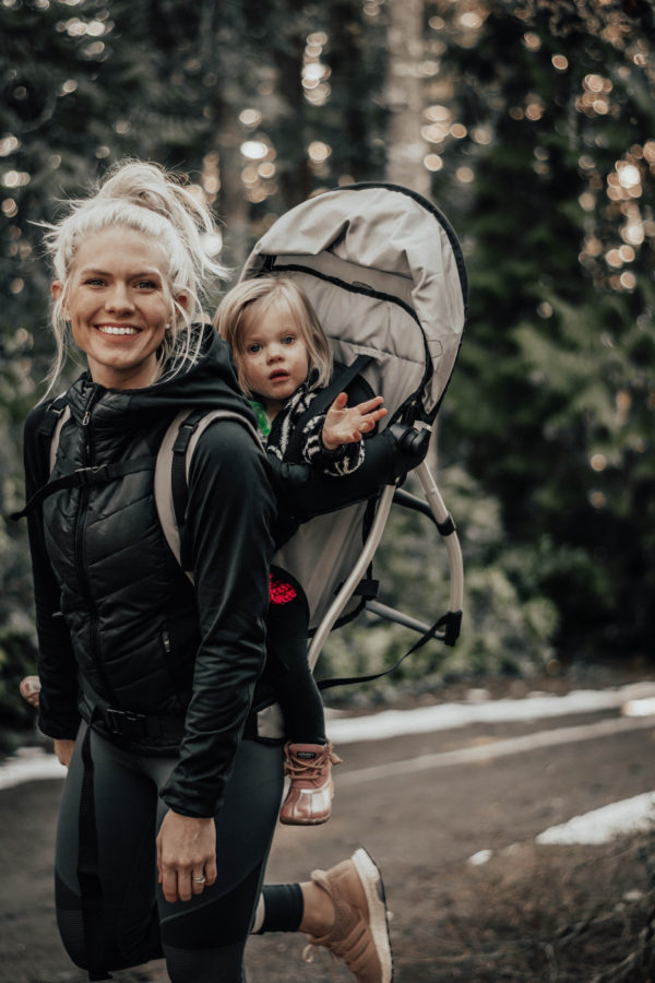 As a general rule, the idea is to pack smart. Don't pack more than you need as you'll probably be the one carrying it all back, but do keep certain scenarios in mind like hunger, bathroom breaks, weather, etc.